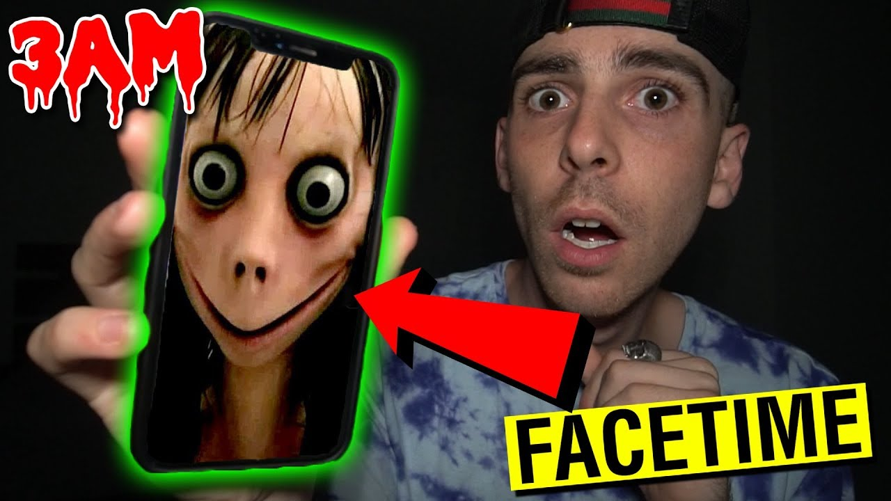 CALLING MOMO ON FACETIME AT 3AM!! *OMG ACTUALLY WORKS ...